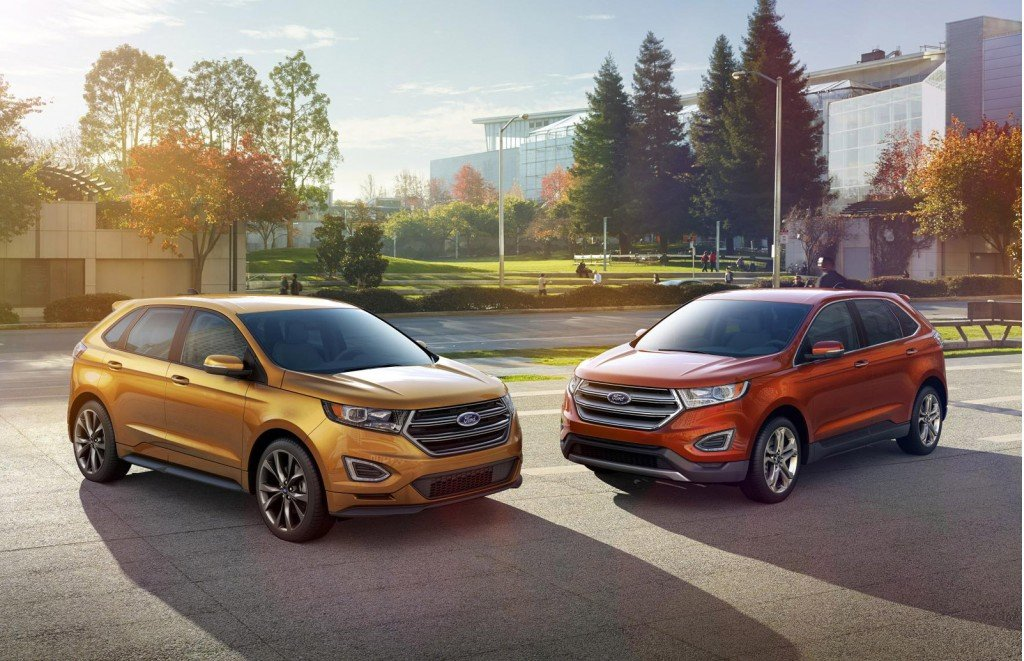 Vehicle Overview Vehicle Location The  Ford Edge